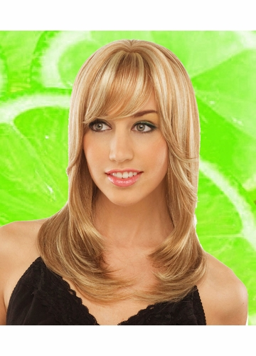 Long Tapered Wig Kona with Bangs