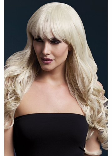 Long Tousled Curl Wig Isabelle in Blonde