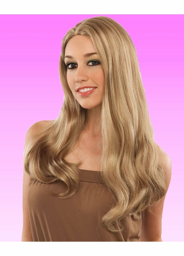 Luxe Long Ashley Wig with Middle Part