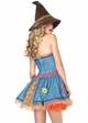 Luxe Sunflower Scarecrow Halloween Costume inset 1