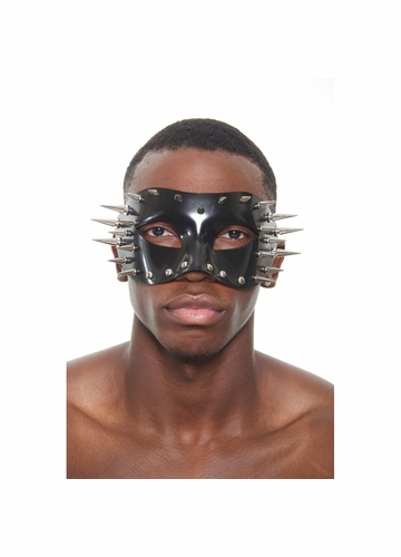 Mask with Studs and Long Spikes