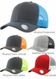 Mesh Trucker Hat in Contrast Colors inset 1