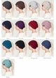 Metallic CC Beanie Hat with Open Ponytail  inset 1