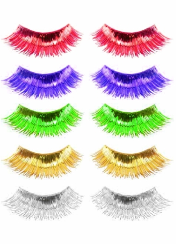 Metallic False Lashes