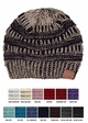 Metallic Yarn Knit Beanie Hat from CC inset 2