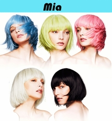 Mia-Short Bob Wig with Fringe