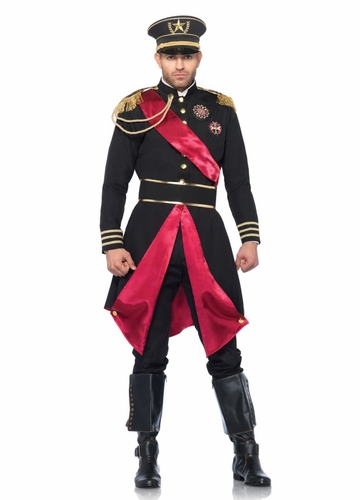 Military General Halloween Costume for Men
