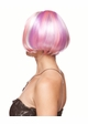 Mini Bob Wig in Pink, Violet and White inset 1