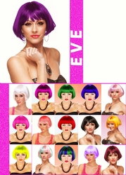 Eve- Mini Bob Wig with Full Bangs