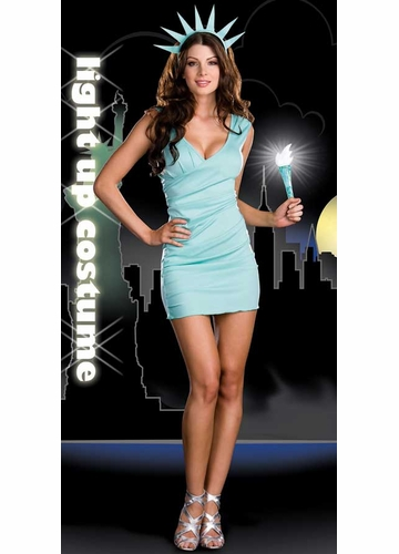 Miss Liberty 3-Piece Costume