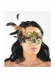 Miss Petite Lace Overlay Masquerade Mask inset 2