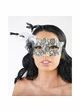 Miss Petite Lace Overlay Masquerade Mask inset 3