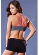 Molded Sports Bra with Contrast Trim inset 1