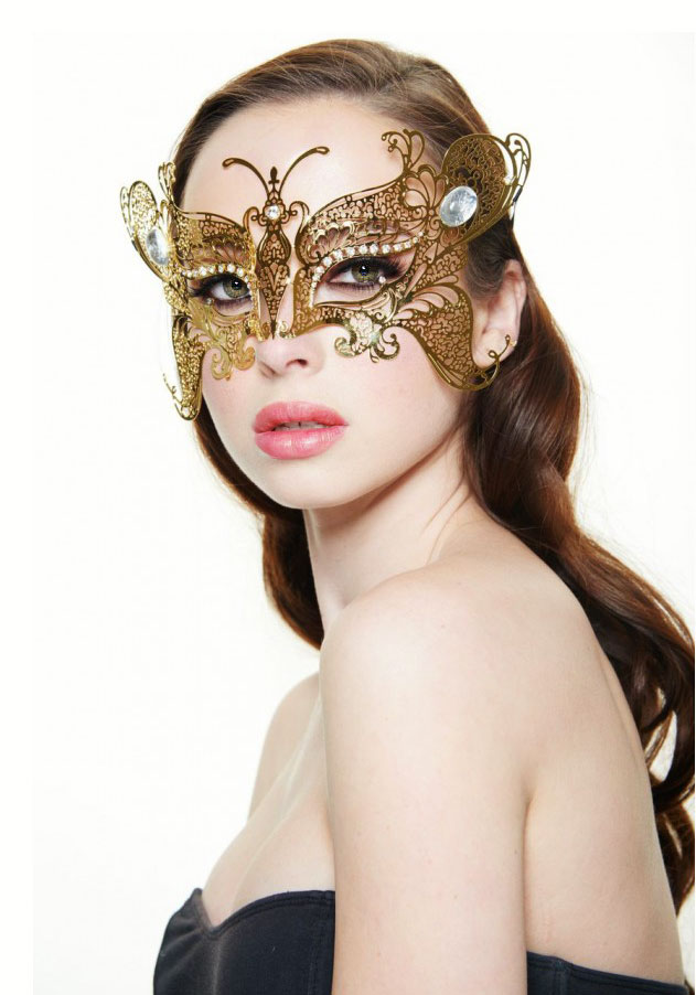 3d67d5a5acc Monarch Butterfly Masquerade Mask