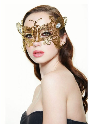 SALE Monarch Butterfly Masquerade Mask