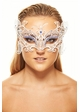 Monarch Butterfly Masquerade Mask With Gems inset 2