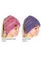 Multi Color CC BeanieTails Open Ponytail Hat inset 1