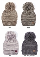 Multi Color Oversized Slouchy Beanie with Pom Pom inset 2