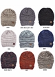 Multi Color Oversized Slouchy CC Beanie Hat inset 1