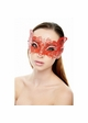 Mystique Masquerade Mask with Crystals inset 3