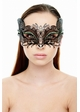 Mystique Masquerade Mask with Crystals inset 1