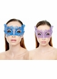 Mystique Masquerade Mask with Crystals inset 4