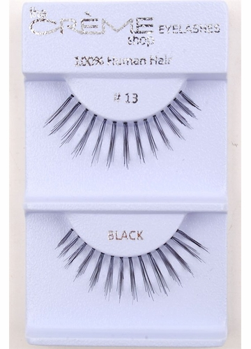 Natural But Long Wispy Flare Lashes