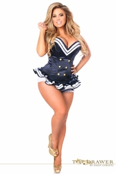 Navy Sailor Corset Halloween Costume