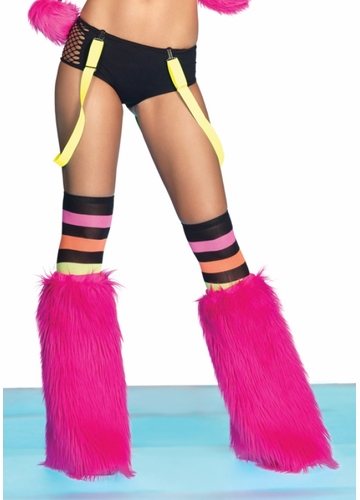 Neon Suspenders available in Yellow, Green or Orange