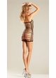 Net Mini Dress with Open Strappy Back inset 1