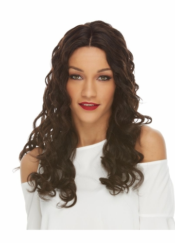Long Lace Front Human Hair Wig Sicily