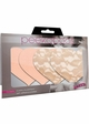 Nude Heart Shaped Self Adhesive Pasties inset 1