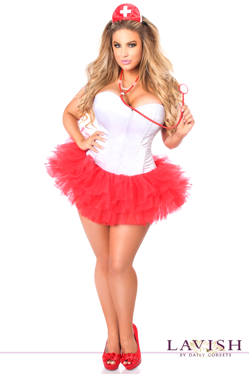 nurse corset halloween costume - Corsets Halloween Costumes