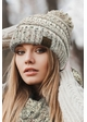 Ombre Confetti Knit Beanie Hat with Pom Pom by CC inset 4