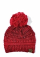 Ombre Confetti Knit Beanie Hat with Pom Pom by CC inset 2