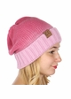 Ombre Knit CC Beanie  inset 1