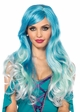 Ombre Mermaid Wig inset 1