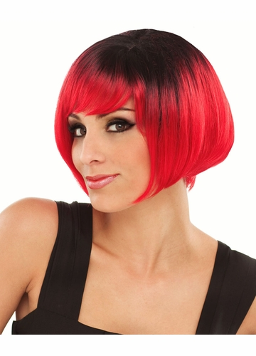 Ombre Two Tone Short Bob Wig Becky