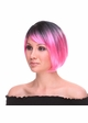 Ombre Two Tone Short Bob Wig Becky inset 1