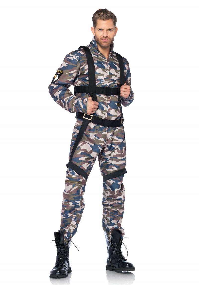 paratrooper halloween costume for men