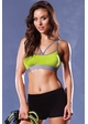 Perforated Microfiber Sports Bra inset 3