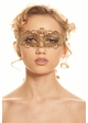 Petite Masquerade Mask with Crystals inset 2