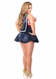 Pin Up Sailor Corset Costume up to Size 6X inset 1