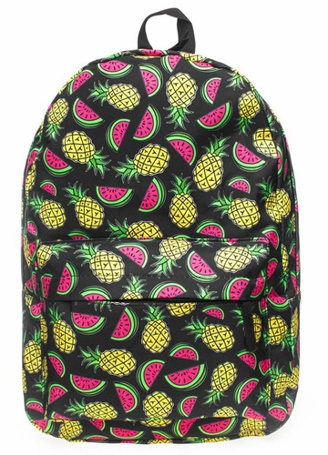 Pineapple and Watermelon Backpack by Zohra