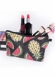Pineapple and Watermelon Make-Up Bag by Zohra inset 3