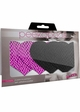 Pink And Black Heart Self Adhesive Pasties inset 1
