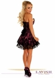 Pink Corset Dress with Lace Overlay inset 1