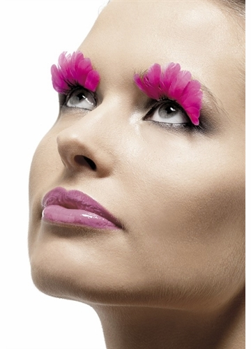 Pink Feather Lashes