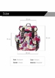 Pink Flower Backpack inset 4