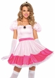 Pink Princess Peach Toadstool Halloween Costume inset 1